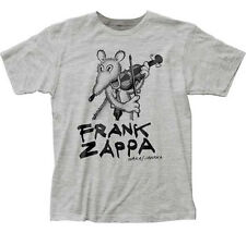 Frank Zappa-Waka Jawaka-X-Large Heather Grey Fitted  T-shirt