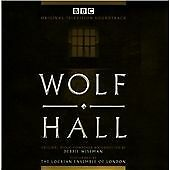 WOLF HALL (DEBBIE WISEMAN), 18 TRACK TV SOUNDTRACK CD ALBUM FROM 2015, (MINT)