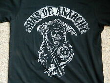 Sons of Anarchy mens Small black T-Shirt (reaper)