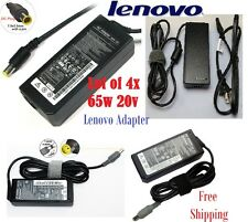 Lot Of 4x Lenovo IBM AC Adapter Thinkpad 20V 3.25A 65W GENUINE T60T410 T510 T400