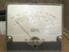 LUXMAN DisplayMeter  8,00 Ohm Watts  Lux Coorporation 1pcs