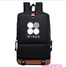 BANGTAN BOYS BTS KPOP WINGS BAG BACKPACK SCHOOLBAG  JUNGKOOK JIMIN JIN V SUGA