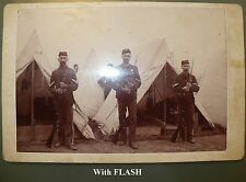 ANTIQUE ORIGINAL MILITARY INDIAN WARS ARMY PHOTO PHOTOGRAPH MARKED N.G.P.
