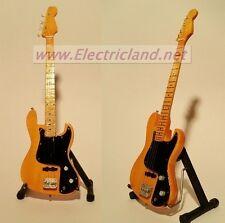 Mini Guitar MARCUS MILLER Fender jazz bass memorabilia chitarra miniature basso