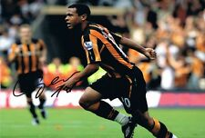 Signed Geovanni Hull City Autograph Photo Brazil Manchester City Barcelona