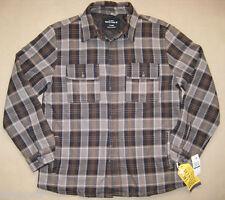 Nautica Lined Jacket/Shirt. Men's. S/M. NWT.$79. Plaid