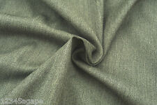 B51 FINE DELUXE PURE LAMBS WOOL SERGE WEAVE MID GREY MELANGE TONES MADE IN ITALY