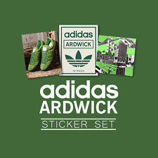 adidas ARDWICK Sticker Set - Manchester Oasis Ian Brown Stone Roses Gallagher