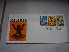 Sambia Zambia früher northern rhodesia Rhodesien fdc cover briefe  1970