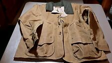 FILSON MADE IN USA,  HUNTING FEILD TIN JACKET OILED  item 10863 SIZE med, -068