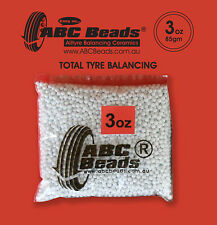 ABC Wheel/Tyre Balancing Beads 1 x 3oz Bag - For Use With Car, 4WD, Truck