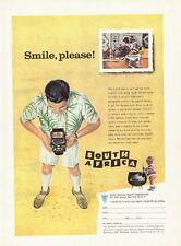 1958 South Africa Tourist Corp. Man with Camera ART PRINT AD