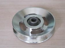 Universal 88.5mm Aluminium Alloy Bearing Pulley Wheel Cable Gym Equipment Part