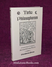 TURBA PHILOSOPHORUM by A. E. Waite, Limited Edition, Alchemy, Ouroboros Press
