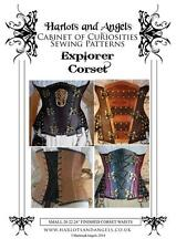 Steampunk Corset Sewing Pattern Victorian, Wedding, Gothic, Pirate, Plus size XL