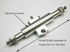 """Aluminum T-bar with lubricant container for 1/4"""" shaft support 2015 version"""