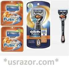 *9 FLEX BALL Gillette FUSION Razor Blades Cartridges Refills Shaver fit Proglide