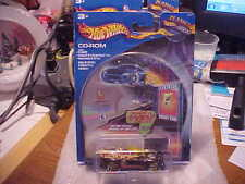 Planet Hot Wheels .Com CD-Rom Electrical Energy Car Monoposto