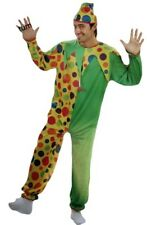 Circus Clown Adult Mens Costume Party Fancy Dress Outfit Cosplay Themed New