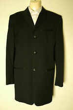 VINTAGE GIANNI VERSACE VERSUS 3/4 LONG COAT JACKET 52 IT RARE