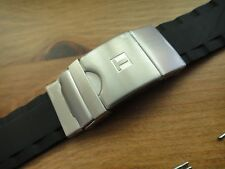 Genuine Tissot s.steel buckle clasp T-TOUCH SEA-TOUCH Rubber Band strap T026.420