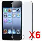 6X Clear Reusable Screen Protector for iPod Touch 4th Gen. 8GB, 32GB, 64GB