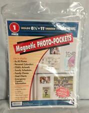Freez-A-Frame 8-1/2 x 11 Magnetic Photo Pockets 1-pack
