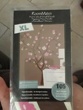 ROOMMATES RMK1555GM Spring Blossom Peel and Stick Giant Wall Decal , New
