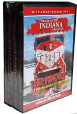 Cab Ride on the Indiana Rail Road 4 DVD Set Hi-Dry & Big Coal NEW Terre Haute