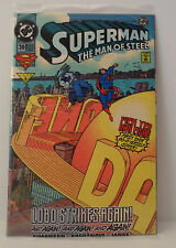 Superman The Man of Steel #30 Bagged w/ Sticker set featuring Lobo NEW IN BAG