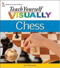 NEW Teach Yourself Visually Chess by Jon Edwards (2006, Paperback)