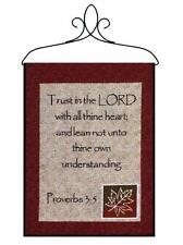 Trust In The Lord Tapestry Bannerette Wall Hanging