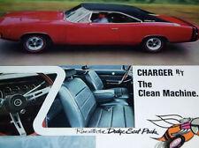 1968 DODGE CHARGER RT ORIGINAL AD-440/426 HEMI V8 engine/block/heads/grille/VTG