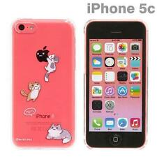 Niconico Nekomura Cat Clear Back Case Cover For iPhone 5c (Pounce)