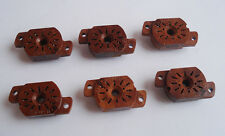 NEW!!! 6 Sockets for IN-12 IN-15 IV-22 NIXIE TUBES (6 pc)