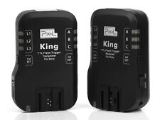 Pixel King Wireless TTL Flash Trigger Receivers Trasmitter Transceivers for Sony