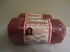Lot of 2 rolls of Wine 4mm Bonnie Braid Braided Macrame Craft Cord 200yds