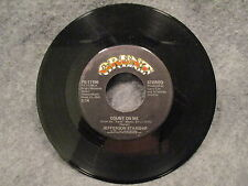 "45 RPM 7"" Record Jefferson Starship Show Yourself & Count On Me Grunt FB-11196"