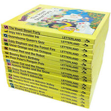 Classic Letterland Storybooks 17 Books Set RRP £4.99 each,Early Learning Reading
