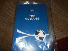 1996 FORD MUSTANG GT COBRA ALL NEW CORRECT FACTORY OWNERS OPERATORS MANUAL NICE!