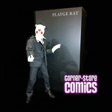 "PLAYGE 12"" Rat WHITE Original Colorway ThreeZero JAMUNGO Action Figure SQUADT 3A"