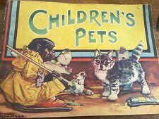 1st Ed Childrens Pets Book c1950s Illustrated by Harry Rowntree Illustrations