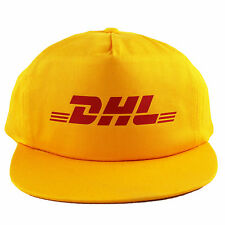 Vintage DHL Snapback Hat Cap Vetements 5 6 panel shirt NEW