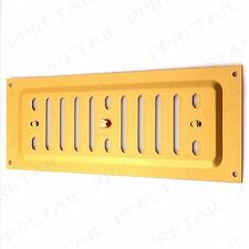 "9"" x 3"" SINGLE BRICK Metal Adjustable Hit & Miss Air Vent Wall Cover Gold/Brass"
