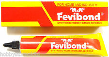 Fevibond Synthetic Rubber Base Glue Adhesive Canvas Cork Rexine Leather Glue 26g