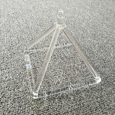 "Optically Clear Quartz Crystal Singing Pyramid 5"" Crystal Singing Bowl"