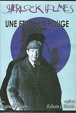 DVD - SHERLOCK HOLMES : UNE ETUDE EN ROUGE / VOST - 1933 / COMME NEUF