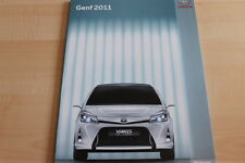 103372) Toyota Yaris Prius + FT-86 II concept - Genf - Pressemappe 03/2011