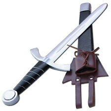 Medieval Knights Battlefield Sword Hilt Tempered High Carbon Steel Dagger