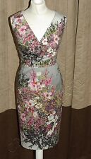 Phase Eight / 8 Roma Blossom dress Size 14 Worn once